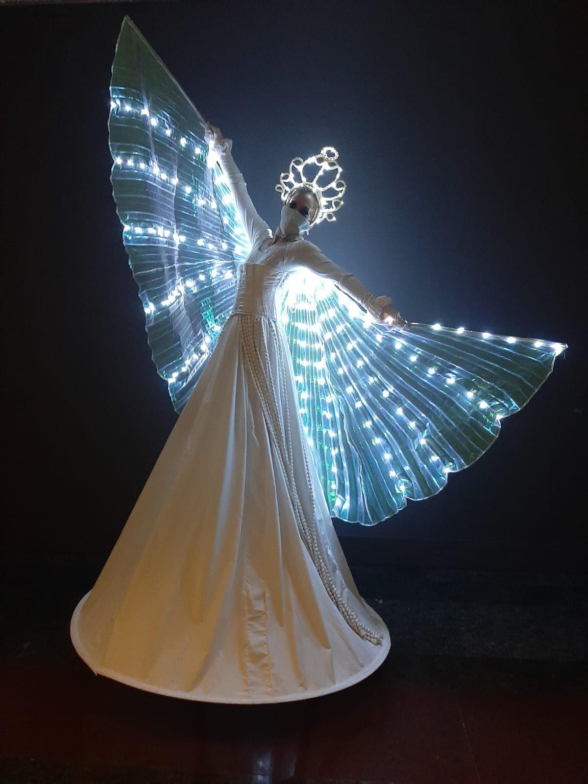 Zancos de luz